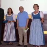 Gewinner der Verlosung beim Gastgeberstammtisch im InterConti