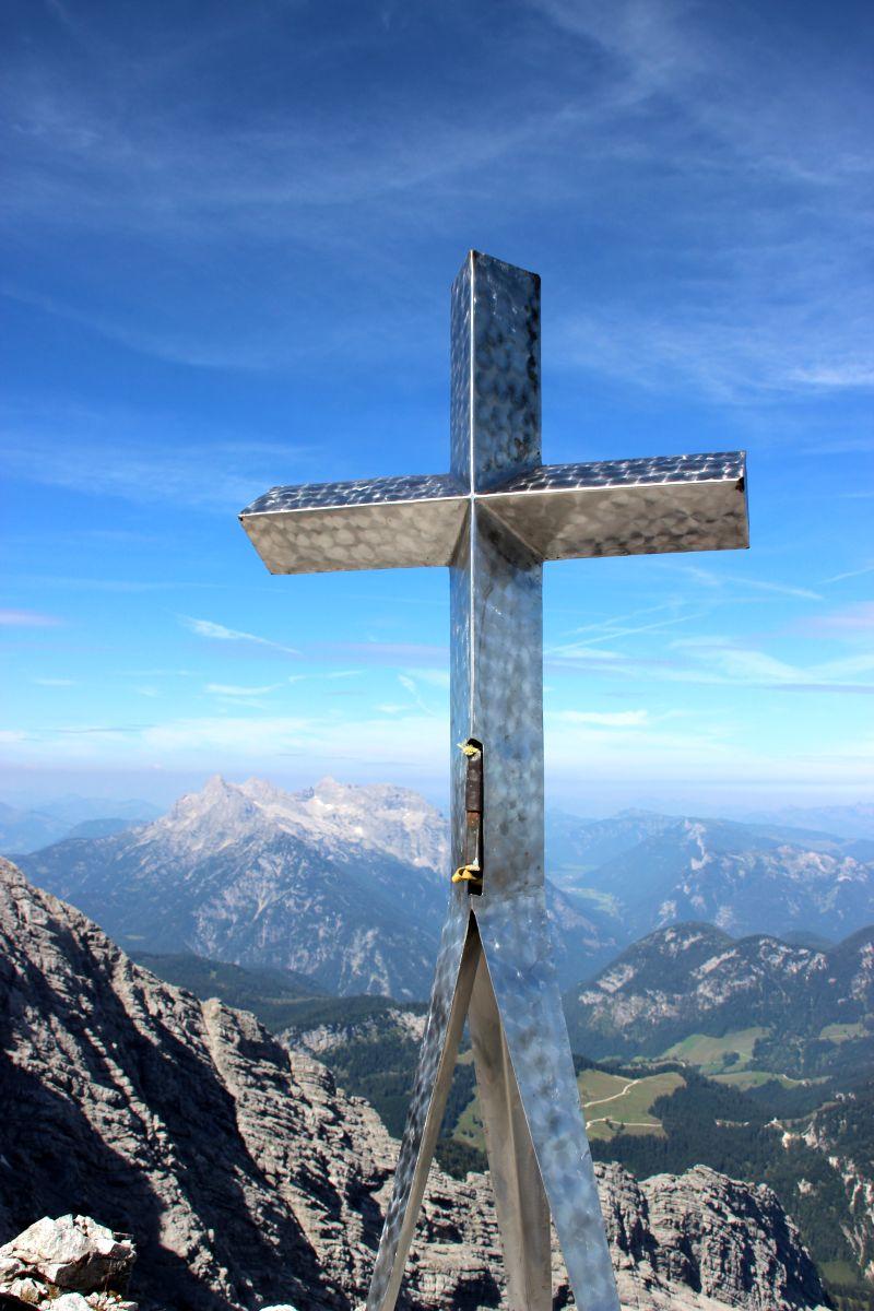 Gipfelkreuz Hocheisspitze