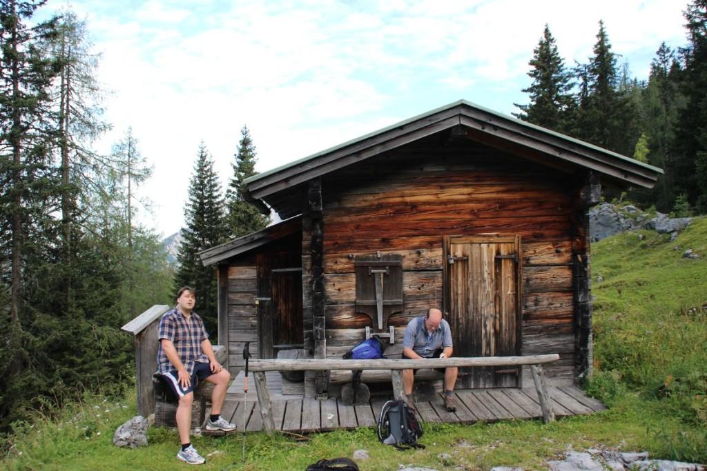 An der Hocheis Diensthütte