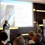 Stephan Köhl und Claus Geißelmann beim Gastgeberstammtisch im InterConti