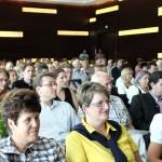 Publikum im Konferenzraum beim Gastgeberstammtisch im InterConti