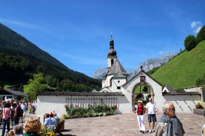 500 Jahre Pfarrkirche Sankt Sebastian Ramsau