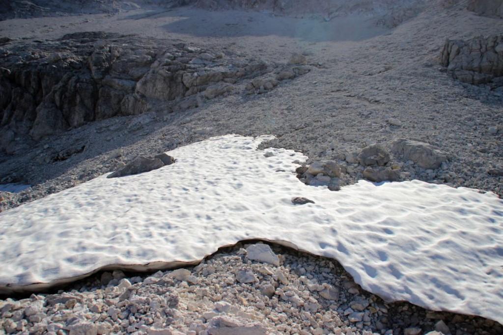 Schneefeld im Hocheiskar