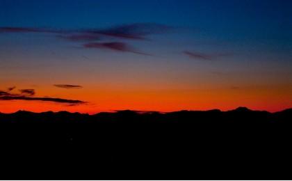 Sonnenaufgang am Hochschwarzeck