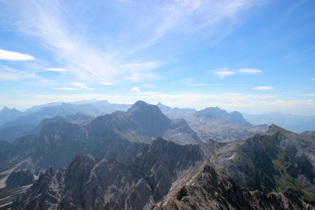 Das Steinerne Meer von der Hocheispitze aus gesehen
