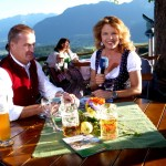 Toni Grassl mit Anja Marks-Schiffahrt