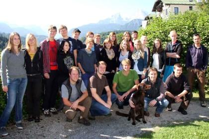 18 Schülerinnen und Schüler des SommerCamps