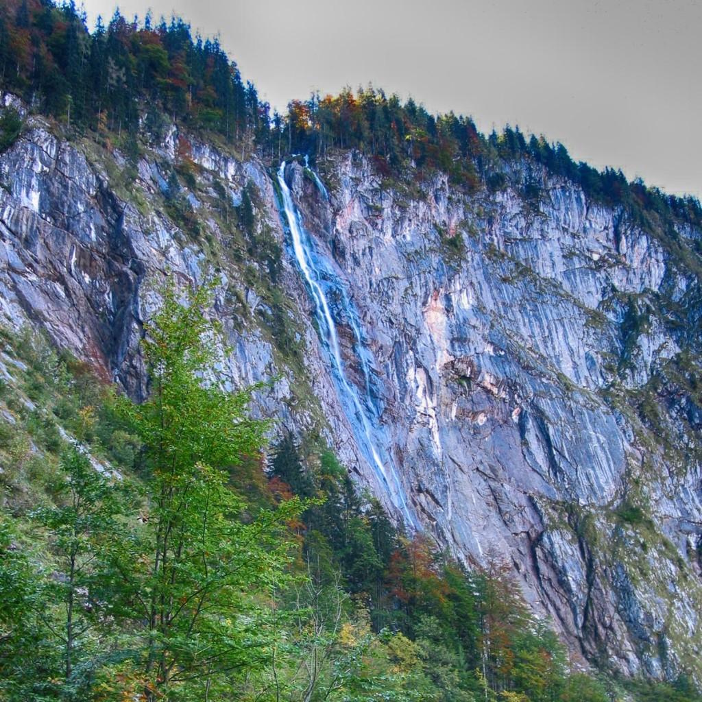 Der Röthbachfall: Deutschlands höchster Wasserfall