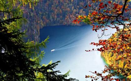 Herbstwanderung oberhalb des Königssees