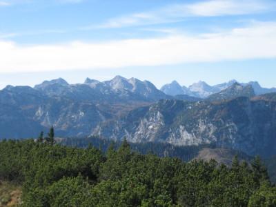 Blick nach Südwesten über Vogelspitz und Reiteralpe