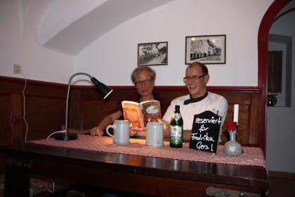 Lesung von Fredrika Gers in Striemitzer´s Esszimmer