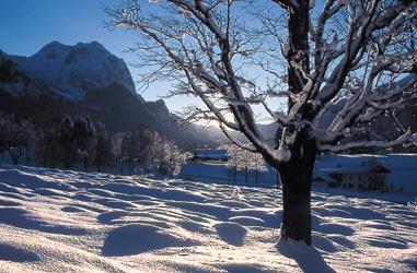Bayerisch Gmain im Winter