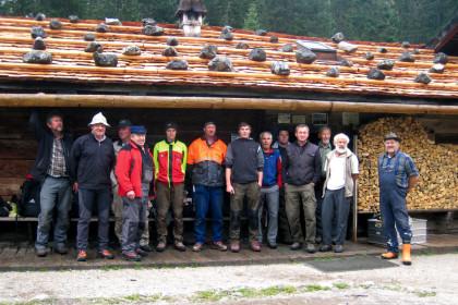 Wasseralm-Dach © Deutscher Alpenverein