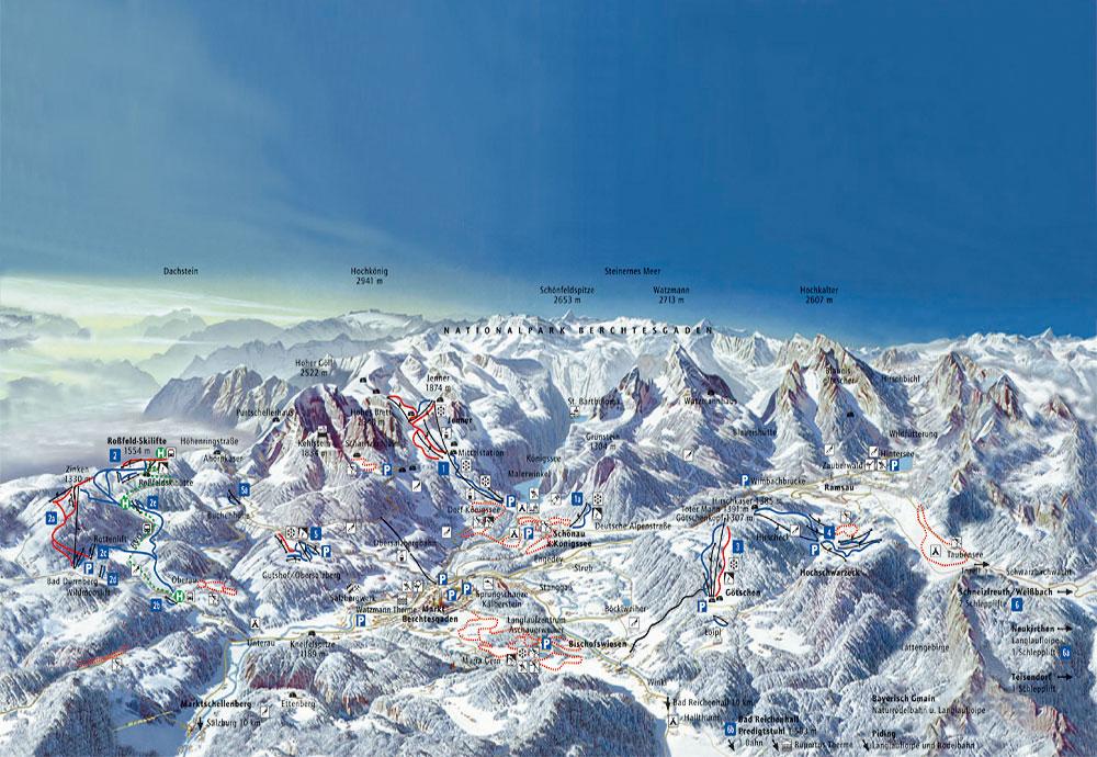 berchtesgadener land holt spitzenplatz bei skigebiete preisvergleich. Black Bedroom Furniture Sets. Home Design Ideas