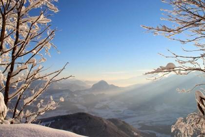 Blick ins Salzburger Land