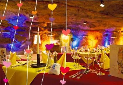 Valentinstag Gewinnspiel Salzbergwerk Berchtesgaden