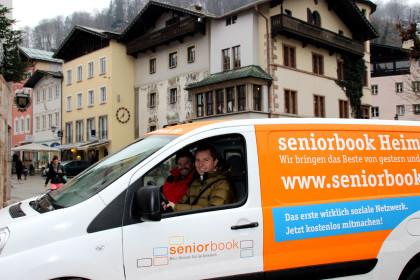 Das Seniorbook Heimatmobil im Berchtesgadener Land