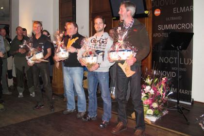 """^Platz zwei in der Gesamtwertung für die Herrenmannschaft bei der Ranger-Olympiade """"Trofeo Danilo Re"""""""