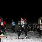 Athleten beim Schneeleoparden