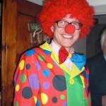 Der Gastgeber als Clown: Andi Striemitzer