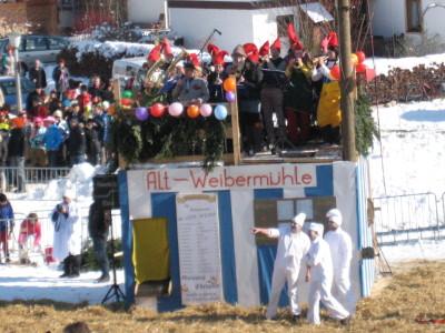 Die Altweibermühle - mit der Trachtenkapelle Anger