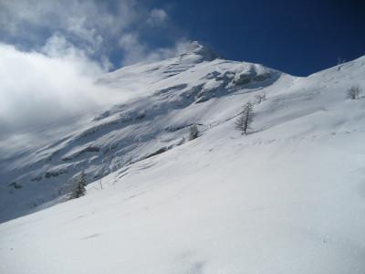 Kleiner Watzmann im Winter
