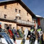 Skitourengeher am Stahlhaus