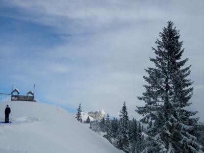 Der Untersberg vom Hirschkaser aus