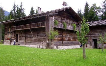 Bauernhaus im Freilichtmuseum Salzburg