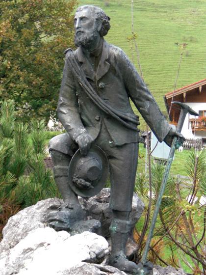 Das Kederbacher - Denkmal in Ramsau