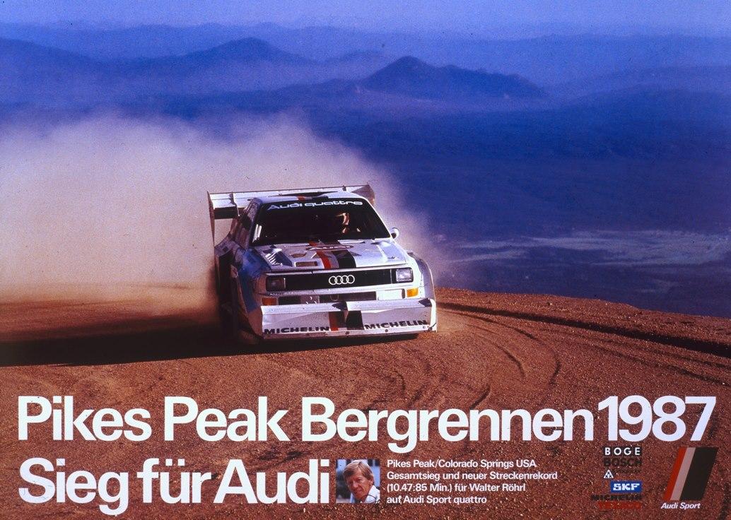 Walter R 246 Hrl Startet Im Audi Sport Quattro S1 Quot Pikes Peak