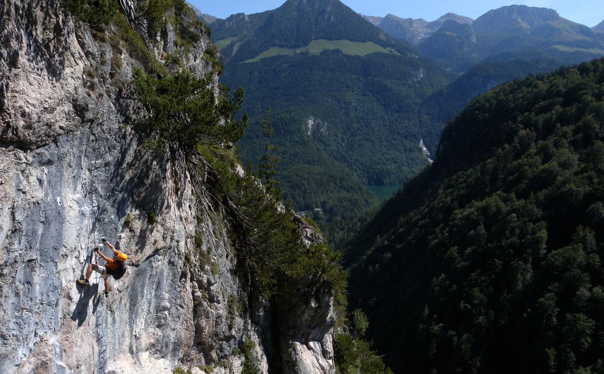 Klettersteig Grünstein : Grünstein klettersteig rocknhike