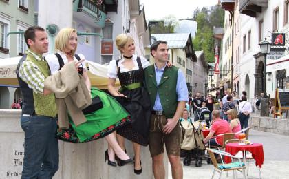 Ein Bummel durch den Markt Berchtesgaden