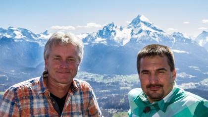 Gipfeltreffen mit Georg Hackl | Bild: BR/Werner Schmidbauer
