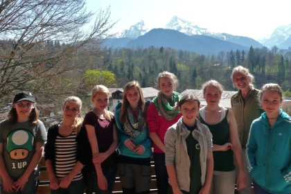 Girlsday im Nationalpark Berchtesgaden
