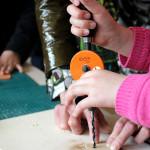 Holzwerkstatt im Bildungszentrum