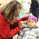 Kinderschminken im Bildungszentrum