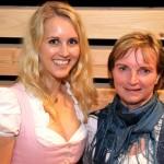 Die Organisatorinnen Lisa Schmölzl (Nationalpartk) und Karin Mergenr (BGLT)