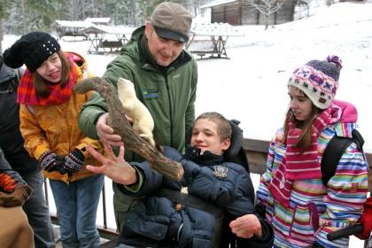 Barrierefreie Führung im Nationalpark Berchtesgaden