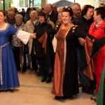 Tanzgruppe um Anna Glossner