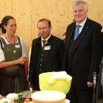 Horst Seehofer in der Umweltbildung