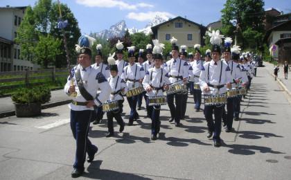 Berchtesgadener Bergknappen an Pfingsten