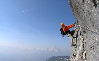 Durch den Hochthronsteig auf den Untersberg