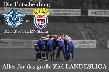 ESV Freilassing in der Relegation zur Landesliga