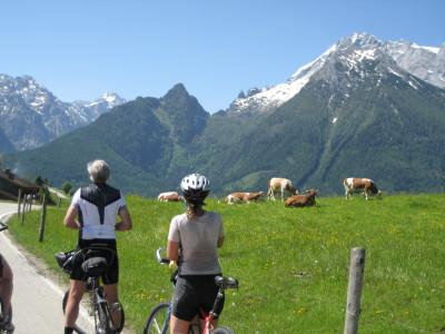 Mit dem Mountainbike am Hochschwarzeck