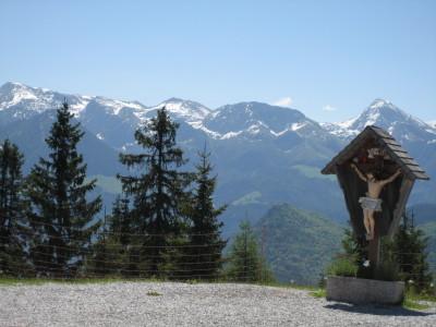 Gipfelkreuz am Hirschkaser