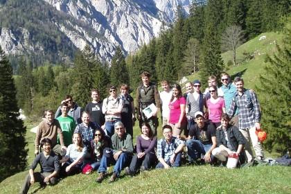 Yale-Studenten im Nationalpark Berchtesgaden