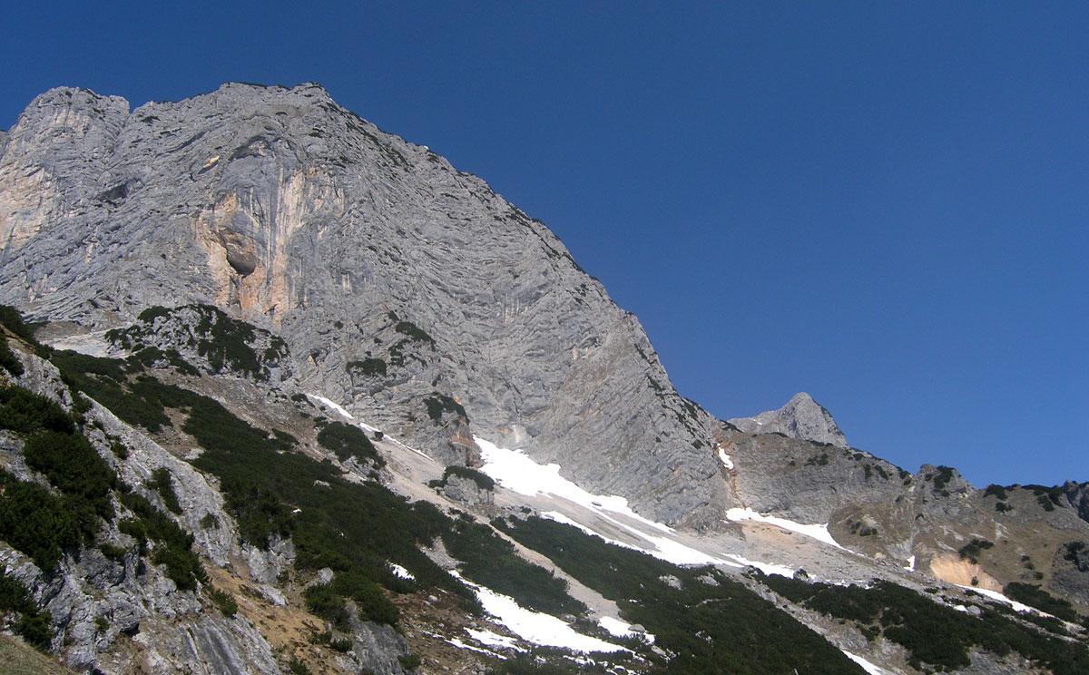 Klettersteig Untersberg : Klettersteig auf den berchtesgadener hochthron