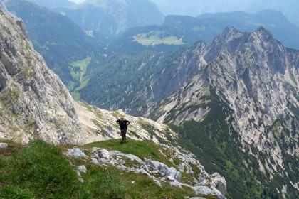 Zum Klettersteig aufs Wagendrischlhorn