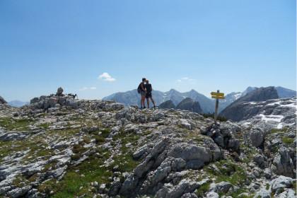 Über der Mayrbergscharte
